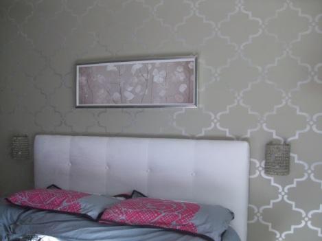 Wall Stencil 007